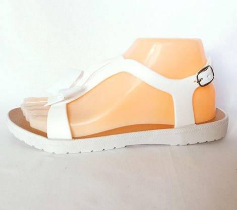 Женские Сандалии Босоножки J.B.P. Летняя Обувь Белые (размеры: 40), фото 2