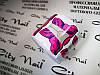Форма для наращивания ногтей  большая - бабочка, 50 шт