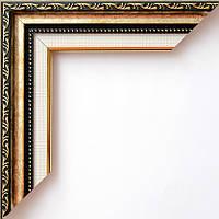 Рамка 40х50  3624-09MF темное золото