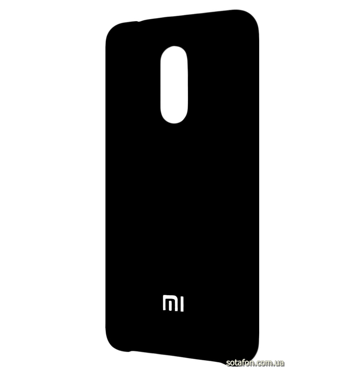 Чехол-накладка Original Silicone case на Xiaomi Redmi 5 Plus Black