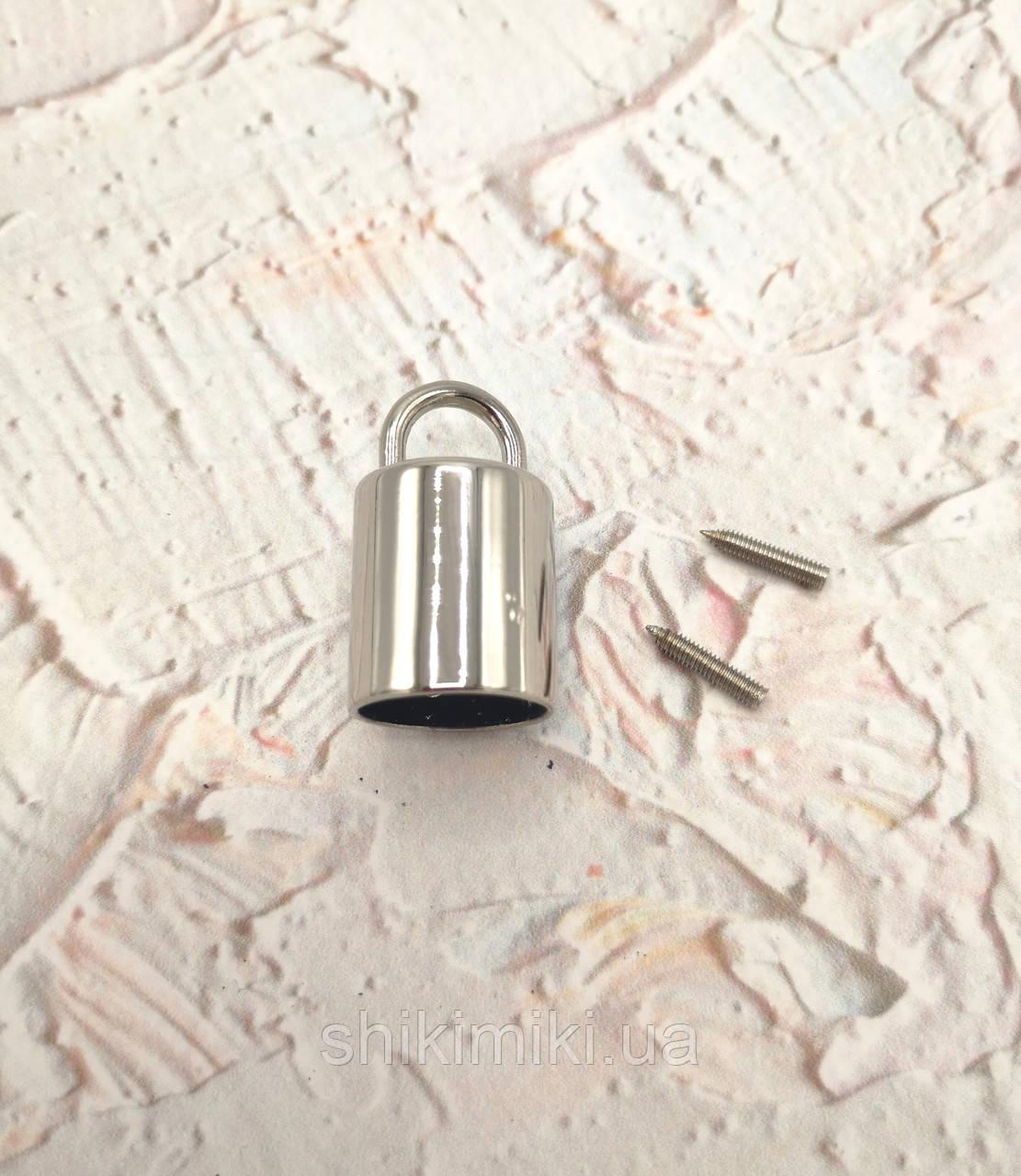 Держатель-боченок DR03-1, цвет никель