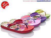 Вьетнамки-шлепки для девочки   р 24-29 (код 1092-00)