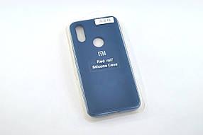 Чохол для телефону Xiaomi Redmi 7 Silicone Original Full №14 dark blue