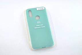 Чохол для телефону Xiaomi Redmi 7 Silicone Original Full №9 azure