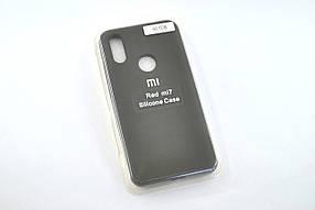 Чохол для телефону Xiaomi Redmi 7 Silicone Original Full №6 cocoa