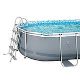 Каркасный бассейн Bestway 56620 (427х250х100) с картриджным фильтром, фото 2