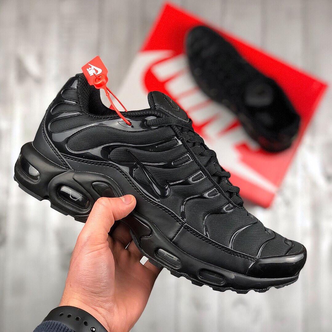 3e9524f3 Мужские кроссовки Nike Air Max TN Plus Black: продажа, цена в Киеве ...