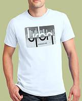 0008-TSRA-WH  Мужская футболка «URBAN GENERATION ». Белая