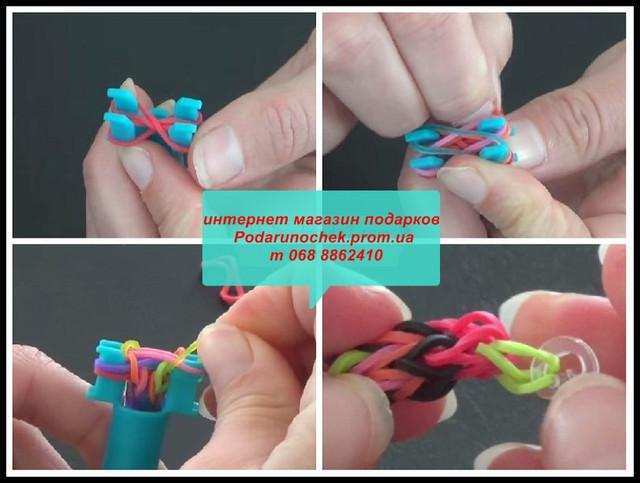 варианты плетения из резинок