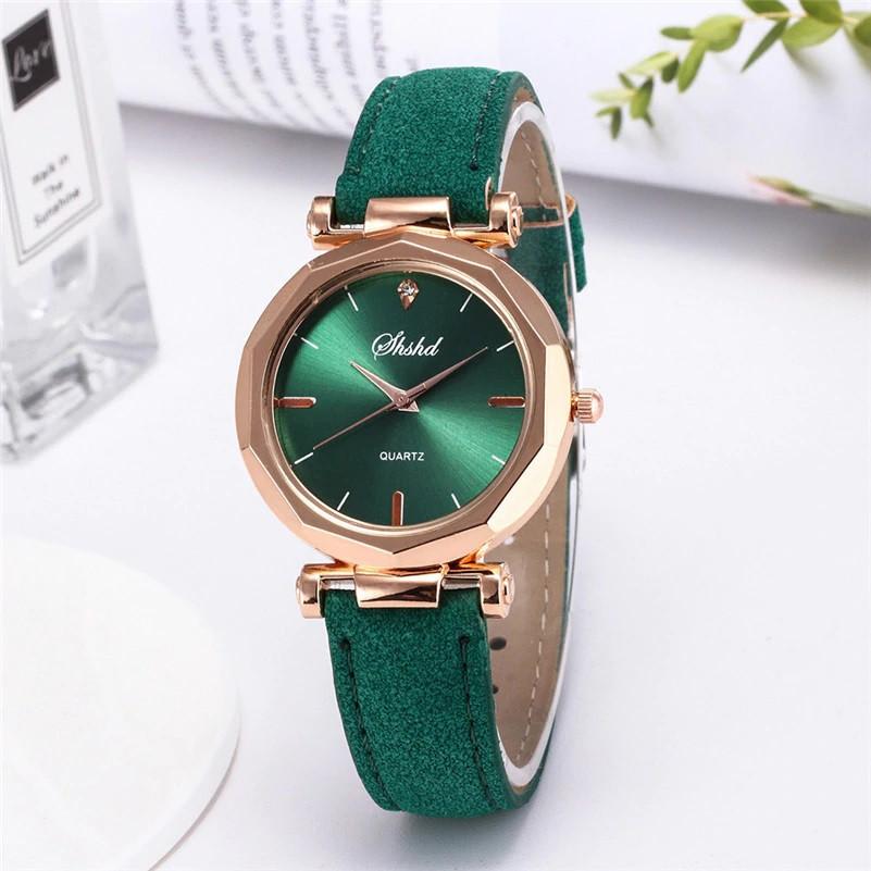 """Жіночі наручні годинники """"Shshd"""" (зелений)"""