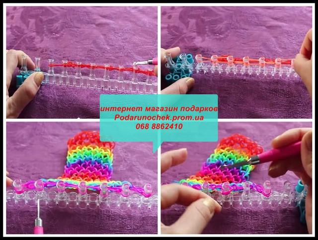 способы плетение из резинок