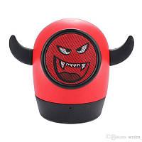 Портативная беспроводная Bluetooth колонка/ MP3 плеер  'Little Monster' + карта памяти 8GB +  кардридер, фото 1