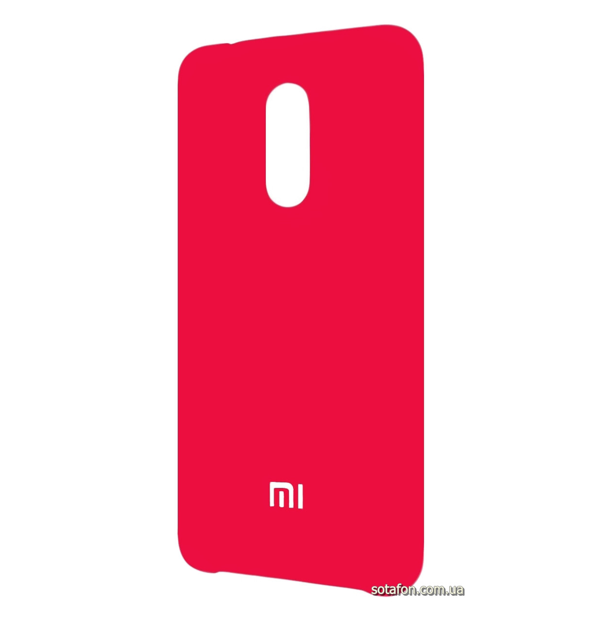 Чехол-накладка Original Silicone case на Xiaomi Redmi 5 Crimson
