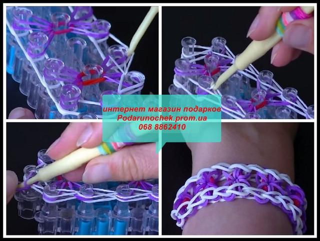 способы плетения из резинок