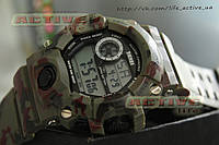 Спортивные часы SKMEI 1019 (Green army) (ВІДЕО)