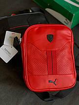Сумка мужская через плечо Puma Ferrari, фото 3
