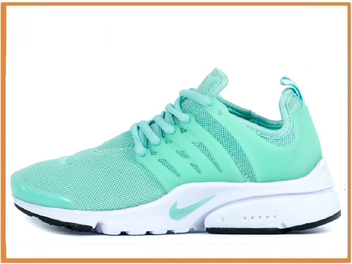 20d31c60 Женские кроссовки Nike Air Presto Turquoise White (найк аир престо,  бирюзовые / белые)