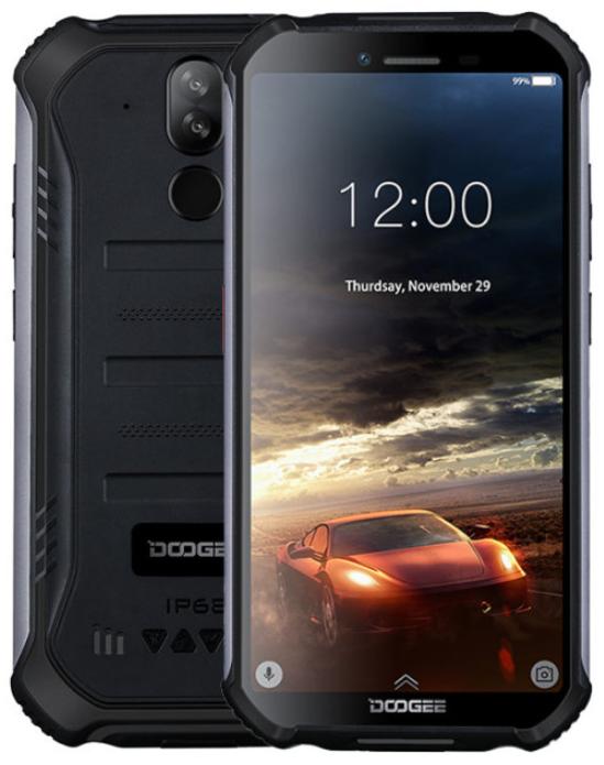 Doogee S40 2/16 Gb black IP68, NFC