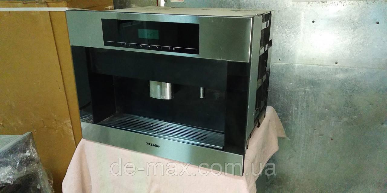 Встраиваемая кофемашина кофеварка Миле Miele CVA 5065