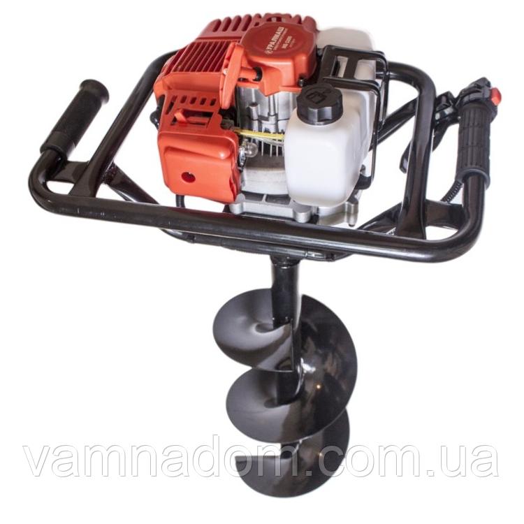 Мотобур Уралмаш МБ 52/300 (Три шнека 100, 150, 250 мм)