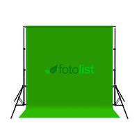 Комплект: Фон тканевой зеленый 3,0х3,0м (Хромакей) + Ворота Arsenal ARS-200 (высота 2.0м)