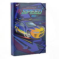 Папка для праці картонна А4 Speed car 491679, фото 1