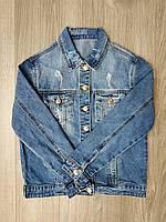 Женская джинсовая куртка размер М. Артикул: D605