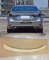 Спойлер багажника сабля Lexus GS 2018+ г.в. ABS пластик, фото 1