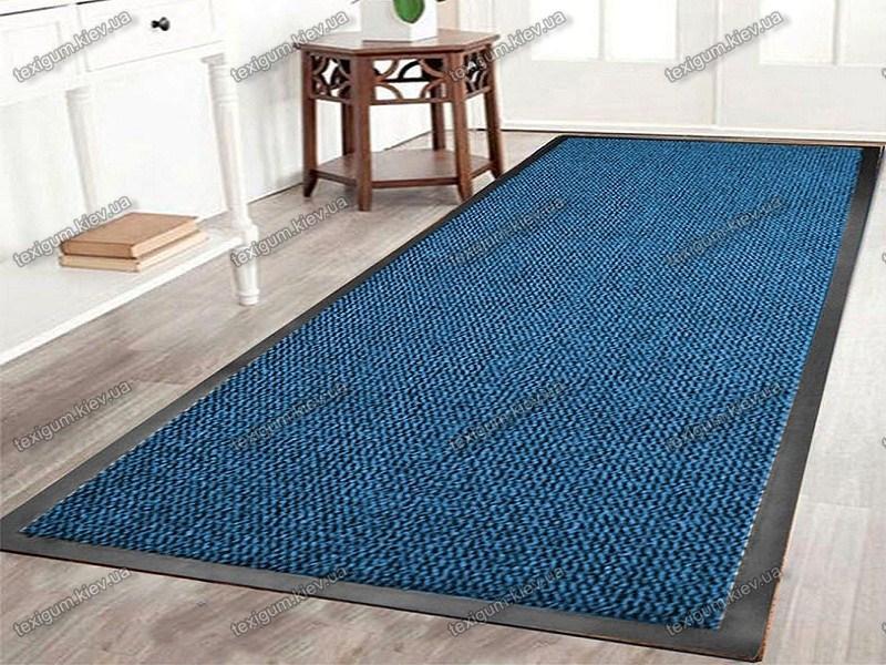 Грязезащитная дорожка Стандарт 120см. цвет синий, длина любая