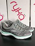 Серые спортивные кроссовки с анатомической стелькой ТМ Ryka, фото 4
