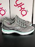 Серые спортивные кроссовки с анатомической стелькой ТМ Ryka, фото 3