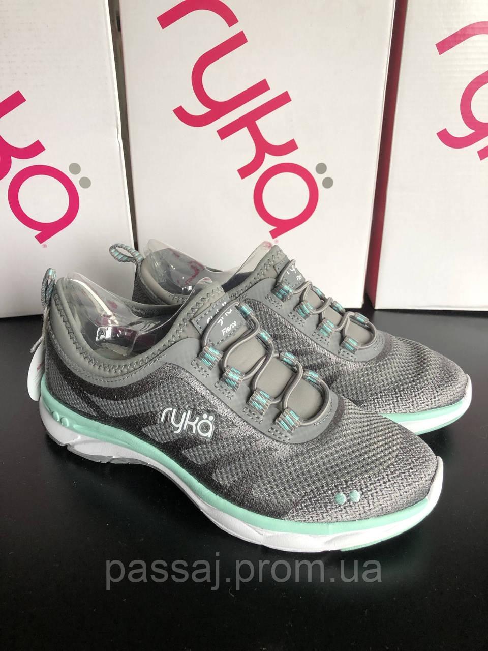 Серые спортивные кроссовки с анатомической стелькой ТМ Ryka
