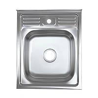 Кухонная мойка Platinum 5060 декор 0,7 мм