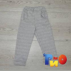 Детские спортивные штаны ,трикотаж,  для девочек, 1-4 лет (4 ед в уп)