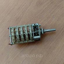 Поворотний перемикач ПГ3-11П5НВ