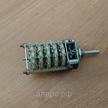 Переключатель поворотный ПГ3-5П10НВ