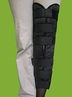 Тутор для ноги, бандаж для полной фиксации коленного сустава, фото 1