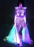 Led сценический костюм Noblest Art Фея (LY3200), фото 1