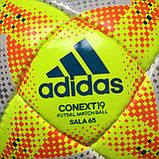 Мяч для футзала (мини-футбола) Adidas Conext 19 Sala 65 FIFA DN8644 (размер 4), фото 10