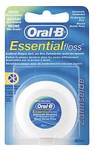 Зубная нить Oral-B Essentialfloss Dental Floss Mint, 50 м