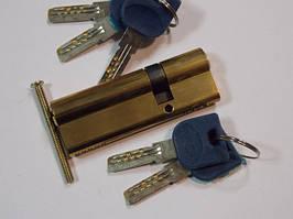 Цилиндр MANERA 90мм (30+60) ключ/ключ (РВ)