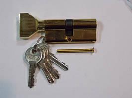 Цилиндр Palermo 68 Т ключ/поворотник (золото)