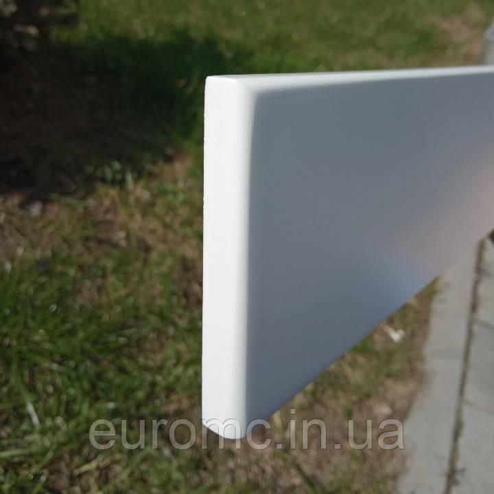 Плинтус МДФ белый 10х70мм