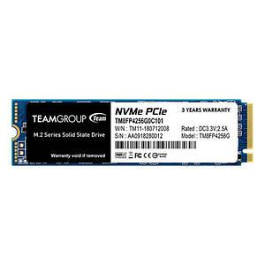 Накопитель SSD 256GB Team MP34 M.2 2280 PCIe 3.0 x4 3D TLC (TM8FP4256G0C101)