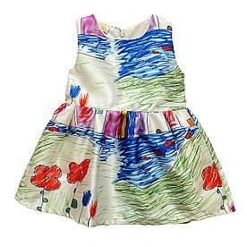 Нарядное платье для девочки. 100 см