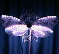 Led сценический костюм Noblest Art Крылья (LY3201), фото 1