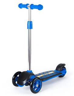 Самокат четырехколесный детский ORION 00164 (Синий)