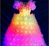 Led программируемое платье Noblest Art  сценическое (LY3203)