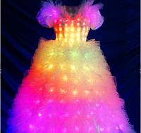 Led программируемое платье Noblest Art  сценическое (LY3203), фото 1