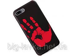 Матовый термочувствительный чехол Ranipo для  iPhone 7 Plus  Черный